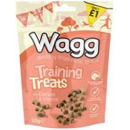 Wagg Training Treats Chicken & Cheese 125g