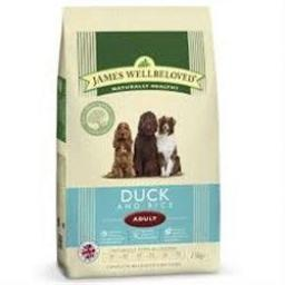 James Wellbeloved Adult Duck & Rice Kibble Dog Food