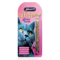 Johnsons Cat Flea Collar Felt Glitter