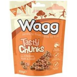 Wagg Tasty Chunks 150g
