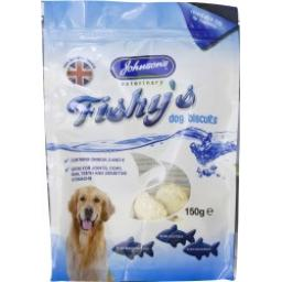 Johnson's Fishy's Dog Biscuits 150g