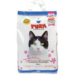 Pura Moonlight Ultra Clumping Cat Litter Baby Powder 5ltr