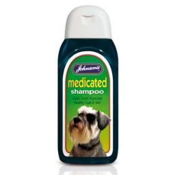 Johnsons Medicated Dog Shampoo 200ml