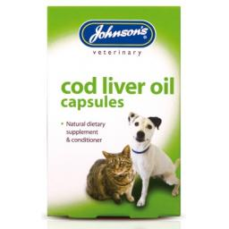 Johnsons Cod Liver Oil Capsules Cat