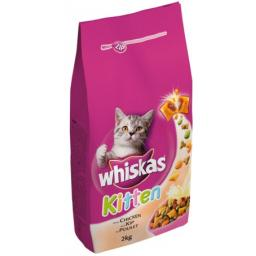 Whiskas Dry Kitten With Chicken 2kg