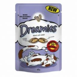 Dreamies Duck Cat Treats 60g