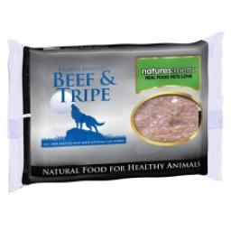 Natures Menu Beef & Tripe Raw Frozen Minced Meat 400g