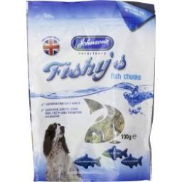 Johnsons Fishys Fish Chunks 100g