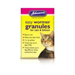 Johnsons Cat & Kitten Easy Wormer Granules