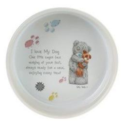 Me To You © Ceramic Dog Feeding Bowl 6""