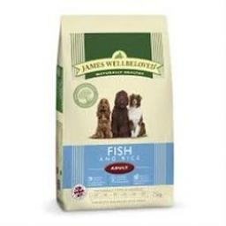 James Wellbeloved Adult Ocean White Fish & Rice Kibble Dog Food
