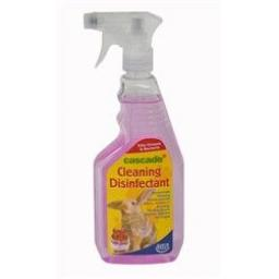 Cascade Small Animal Cleaning Disinfectant 500ml Trigger
