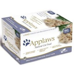 Applaws Cat Pot Multipack Chicken 8 x 60g