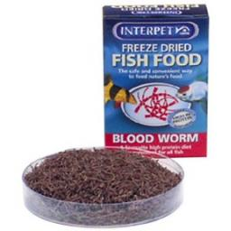 Freeze Dried Food Bloodworm