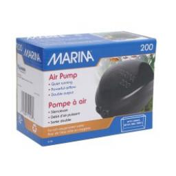 Marina 200 Air Pump Double Outlet For Aquariums Up To 225ltr