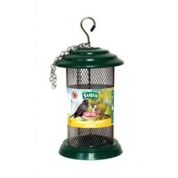 "Supa Easy Fill Plastic Sunflower Heart Feeder Green 20cm (8"")"