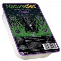 Naturediet Lamb Adult Dog Food 390g