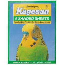 Kagesan Sand Sheets No4 33x25cm 6 Sheets