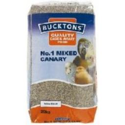 Buckton Canary Seed No 1 20kg