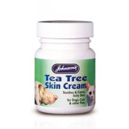 Johnsons Cat Tea Tree Antiseptic Skin Cream 50g