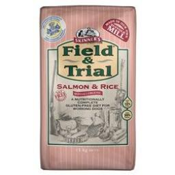 Skinners Field & Trial Salmon & Rice Hypoallergenic Dog Food 15kg