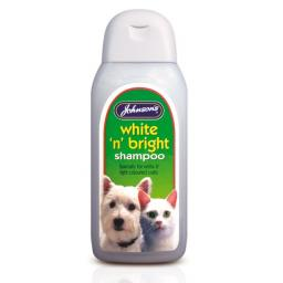 Johnsons White 'n' Bright Dog Shampoo 200ml