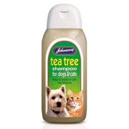 Johnsons Tea Tree Dog Shampoo 200ml