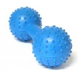 Classic Rubber Pimple Dumbbell With Bell 5""