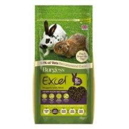 Burgess Excel Rabbit Nuggets SAVE ON 4KG