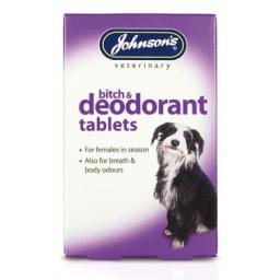 Johnsons Bitch & Deodorant Tablets