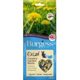 Burgess Excel Snacks Country Garden Herbs 120g