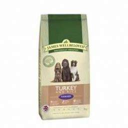 James Wellbeloved Turkey & Rice Senior Kibble Dog Food