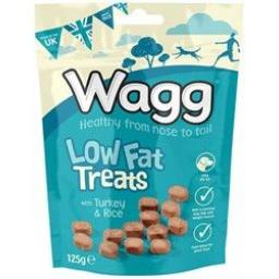 Wagg Low Fat Treats 125g