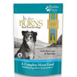 Burns Lamb Brown Rice & Veg Complete Dog Food 6x400g