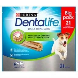 DENTALIFE Small Dog Dental Chews 21 Stick