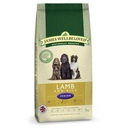 James Wellbeloved Lamb & Rice Senior Kibble Dog Food