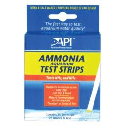 Api Ammonia Aquarium Test Strips 25pk