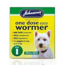 Johnsons Easy Dose Wormer Size 1
