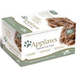 Applaws Cat Pot Multipack Fish 8 x 60g
