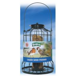 Supa Caged Seed Feeder 25cm 10""