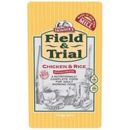 Skinners Field & Trial Chicken & Rice Hypoallergenic Dog Food 15kg