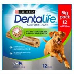 DENTALIFE Large Dog Dental Chew 12 Stick