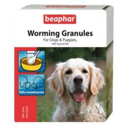 Beaphar Dogs & Puppies Worming Granules