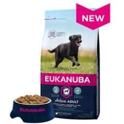 EUKANUBA Active Adult Large Breed Rich In Fresh Chicken Dog Food