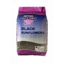 Bucktons Black Sunflower Seed from