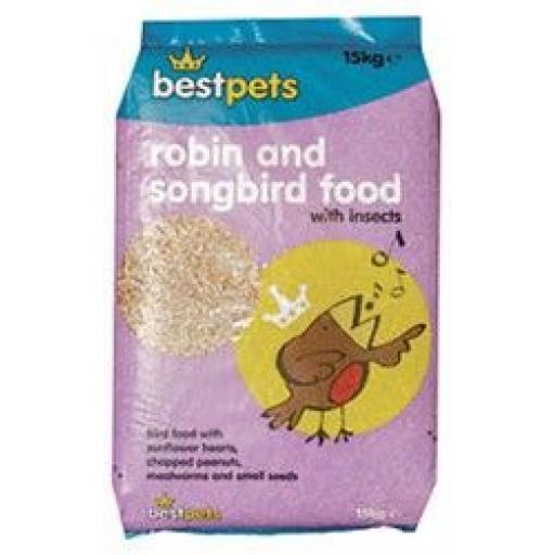 Bestpets Robin & Songbird 2kg & 15kg