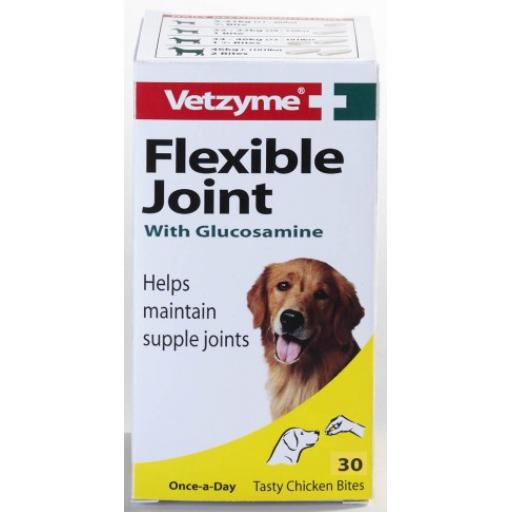 Vetzyme Dog Flexible Joint With Glucosamine