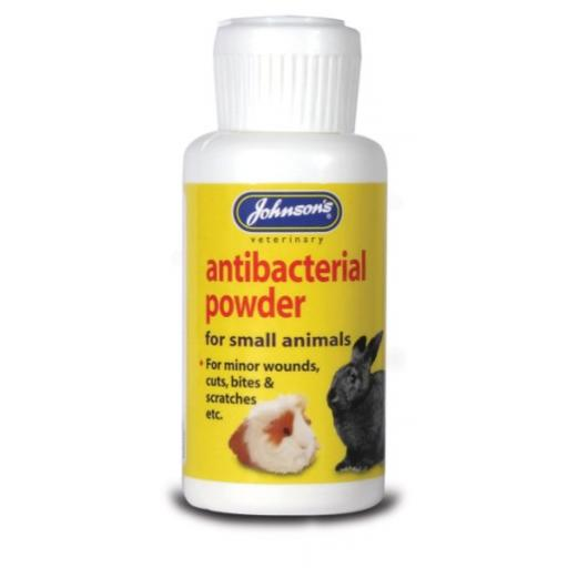 Johnsons Small Animal Anti-bacterial Powder 20g