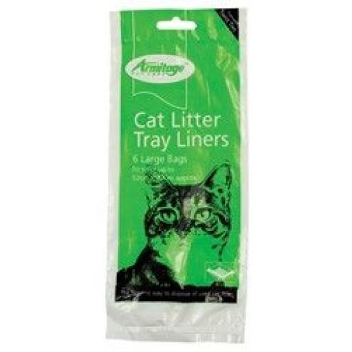 Armitage Cat Litter Tray Liners Large (Pack of 6).