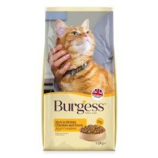 Burgess Adult Cat Chicken & Duck